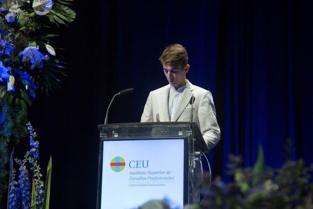 El ISEP CEU CV celebra el Acto de Graduación
