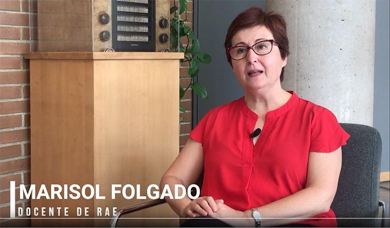 Marisol Folgado Docente RAE
